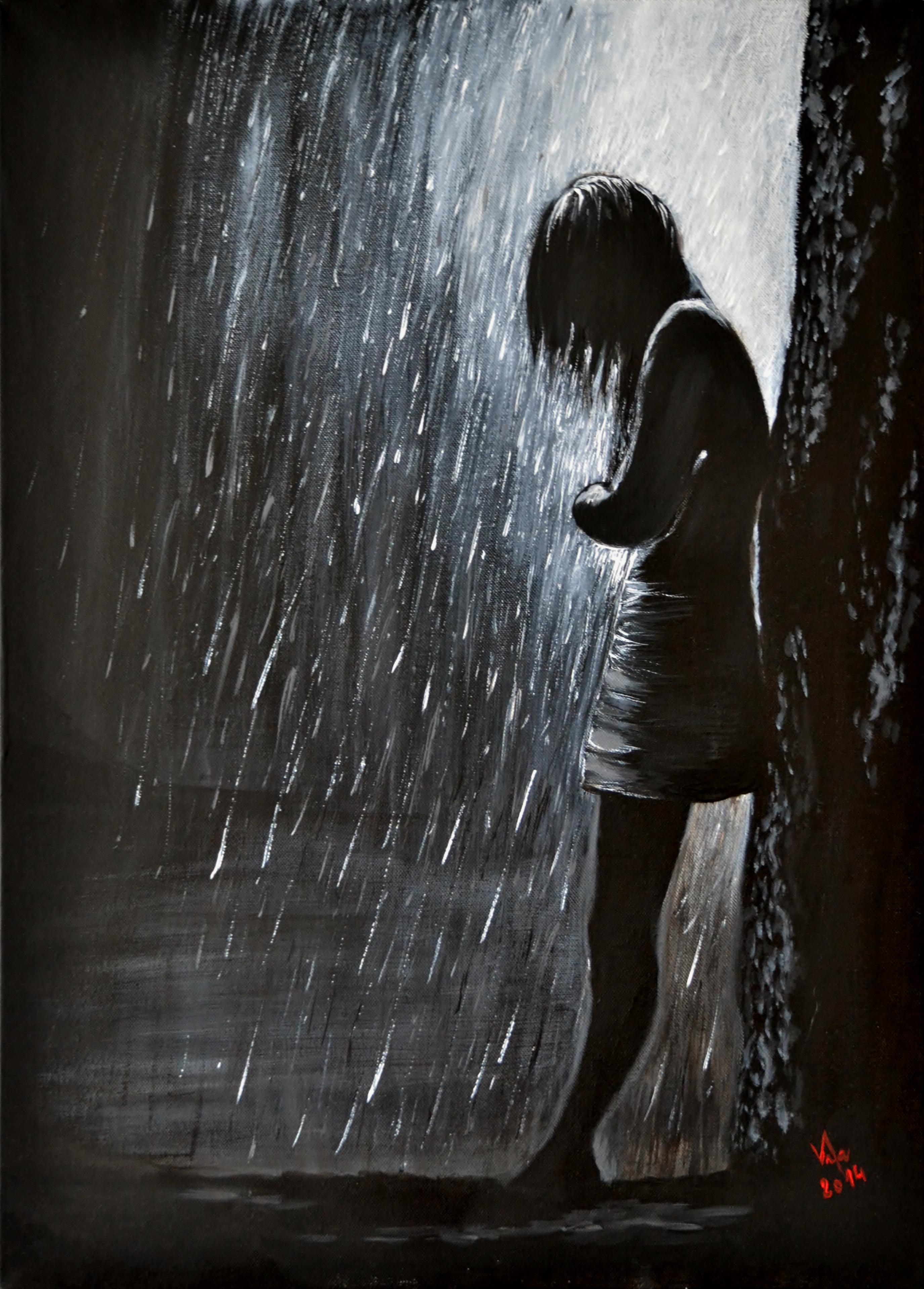 A déšť tiše šepotá