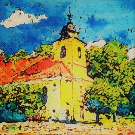 Kostel v Hřiměždicích