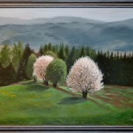 Píseň lesa v jarním opojení