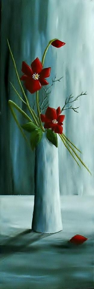 Zátiší s orchidejí