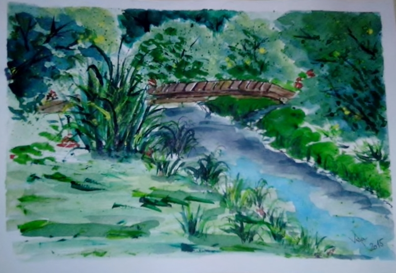 Zátiší u rybníka