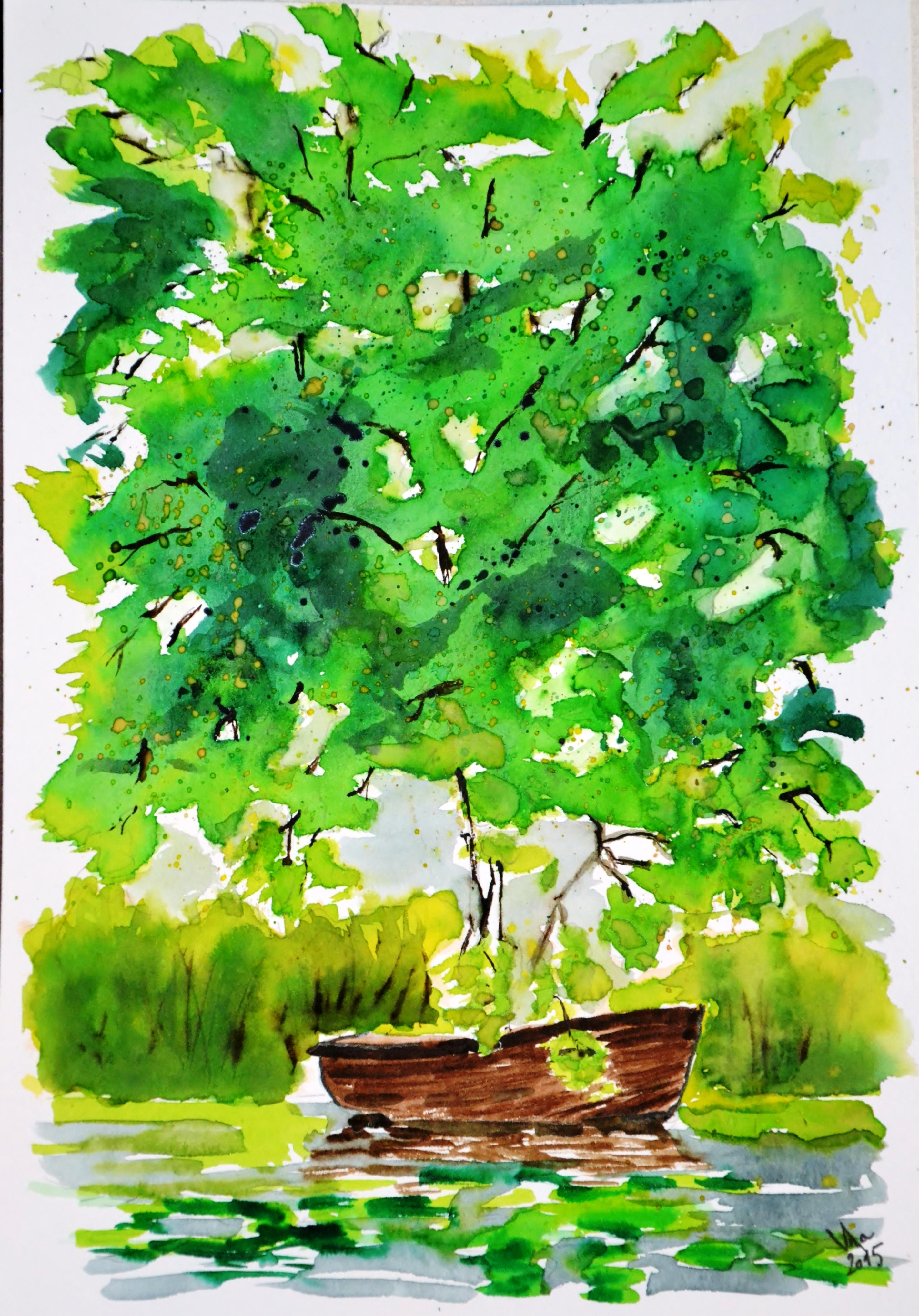 Ukrytá pod stromovím