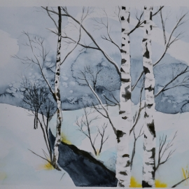 Zimní potok II