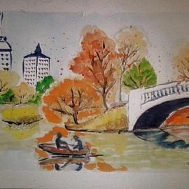 Podzim na řece
