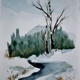 Zimní potok I