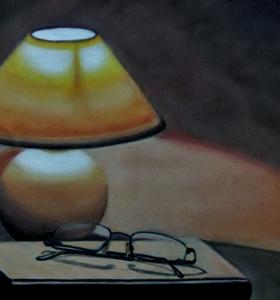 Zátiší s lampou