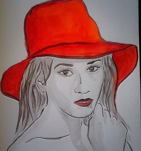 V červeném klobouku